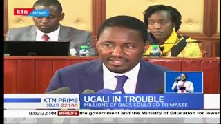 Mwangi Kiunjuri has ordered for a second audit of maize stored in all NCPB stores