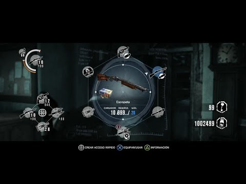 The Evil Within PS4 / Hack Municion Infinita (test)