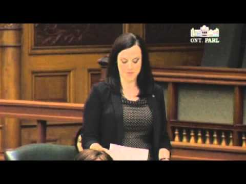 MPP French questions government's pension priorities