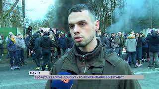 Prison : mobilisation à Bois d'Arcy du personnel