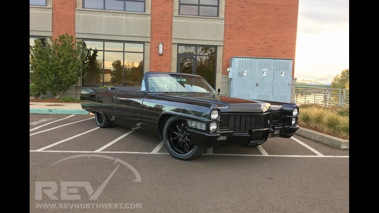 1965 Cadillac Coupe Deville Choptop Convertible Lsx Youtube