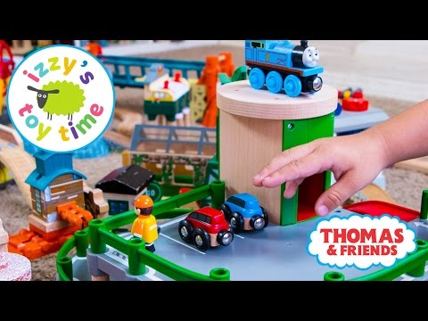 Thomas and Friends | Thomas Train Bubs Builds a Track with new Brio | Fun Toy Trains for Kids