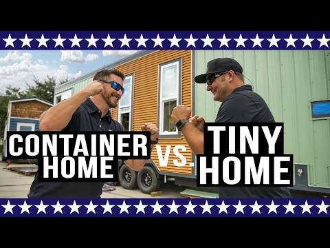 Container Home vs. Tiny Home | Breakdown of Pros & Cons