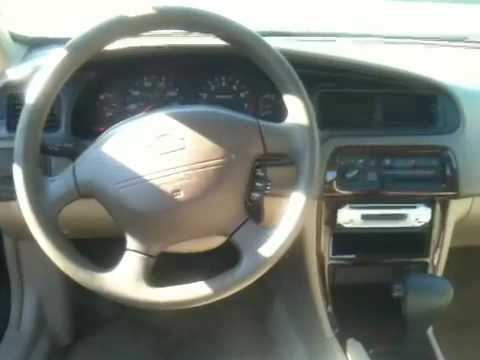 Charming 2001 Nissan Altima GXE   Mileage: 121,000 (Interior)   YouTube