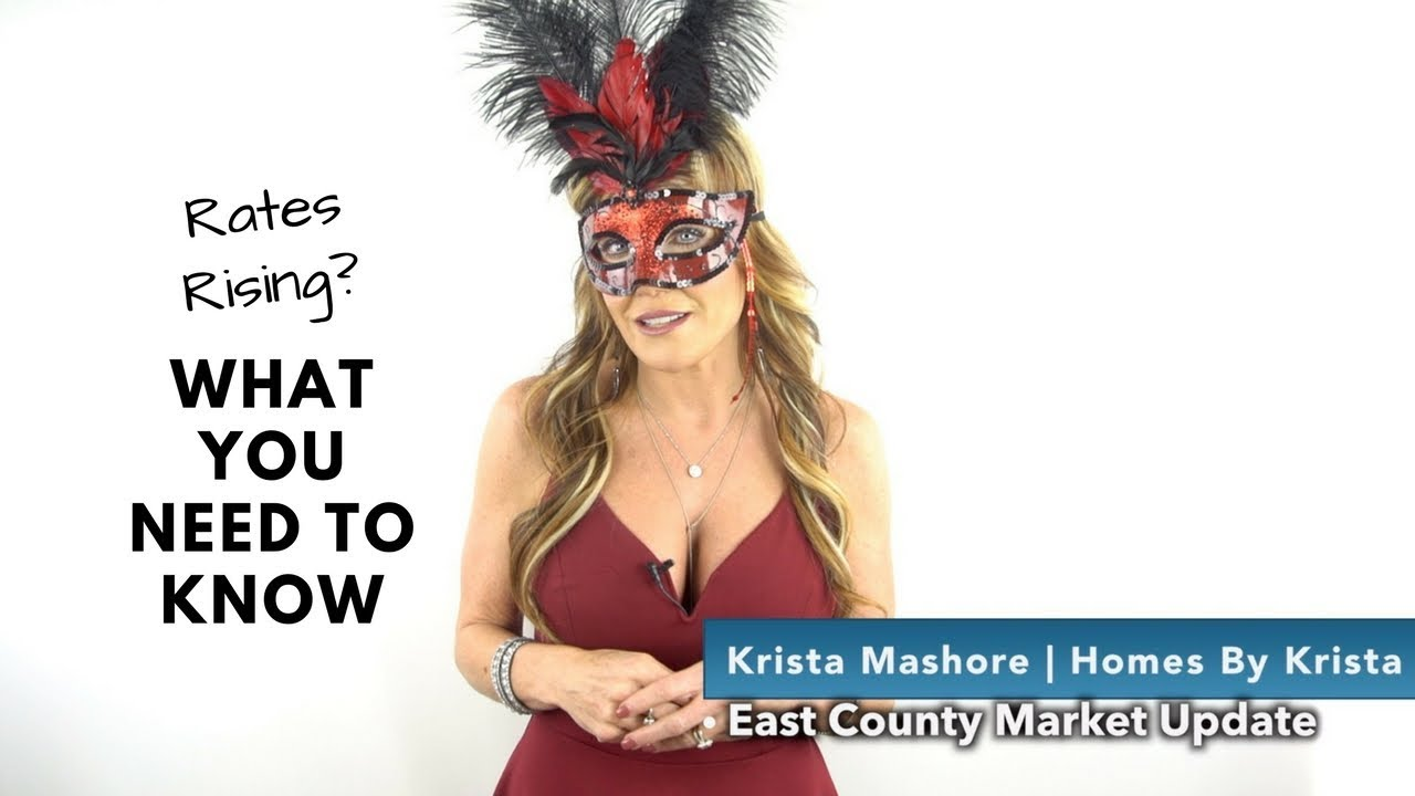 East County Market Update || 2-15-18 || Rates Rising? What you Need To Know!