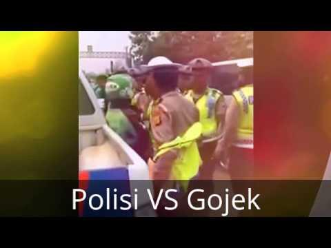 Oknum Polisi Nakal Pukul Driver Gojek Saat Kena Razia (Trending Topic)