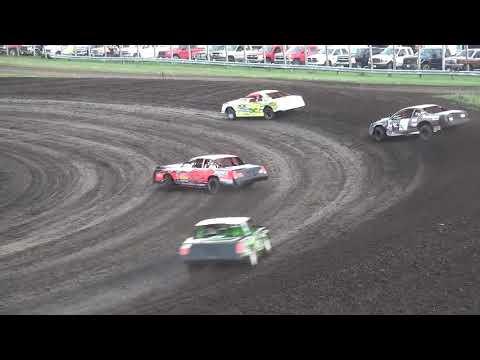 IMCA Stock Car Heat 1 Benton County Speedway 8/11/19