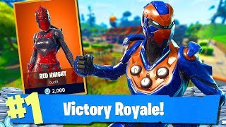 Fortnite-RED KNIGHT! SHALL WE BUY? NEW SKIN! PLAYGROUND MODE! -Soils & Squads