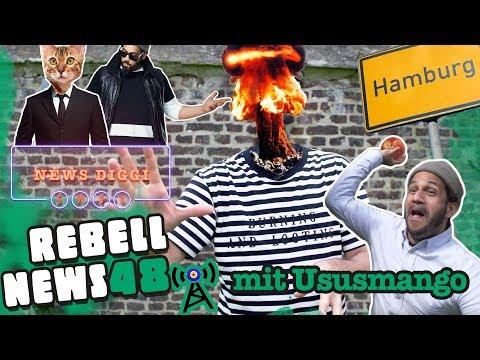 Hamburg dreht durch & Katzen vor Gericht?! #Achtundpfirsisch | Rebell News #48 mit Ususmango
