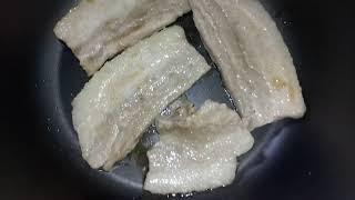 멀티쿠커에 삼겹살을 익혀먹다 211015