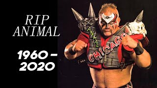 WWE Legend Road Warrior Animal Passes Away At 60...Wrestlers React...Wrestling News