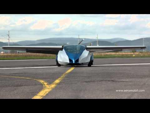 AeroMobil 2.5: Flying car (Official video)