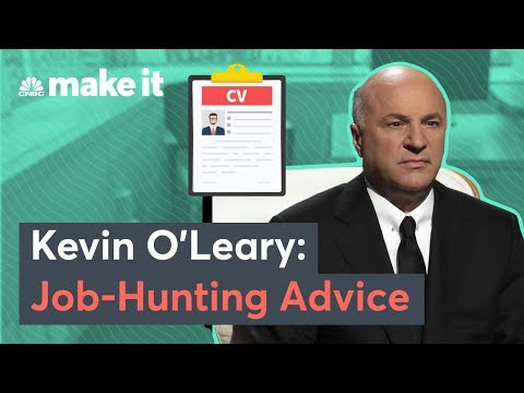 The Job-Hunting Advice Kevin O'Leary Gave His Daughter