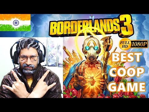 Borderlands 3 Walkthrough in Hindi   Best Coop Game 2019   Campaign   Charity Stream   India Live
