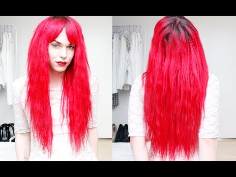 How To Get Bright Red Hair Youtube