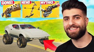 Everything Epic DIDN'T Tell You In The CAR MOD Update! (New Mythic, New Bow, Primal Gone) - Fortnite