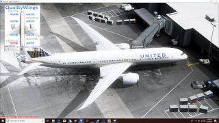 [In the QualityWings 787!]  Denver-Washington D.C.  |  United 787-9  |  Flight Sim X