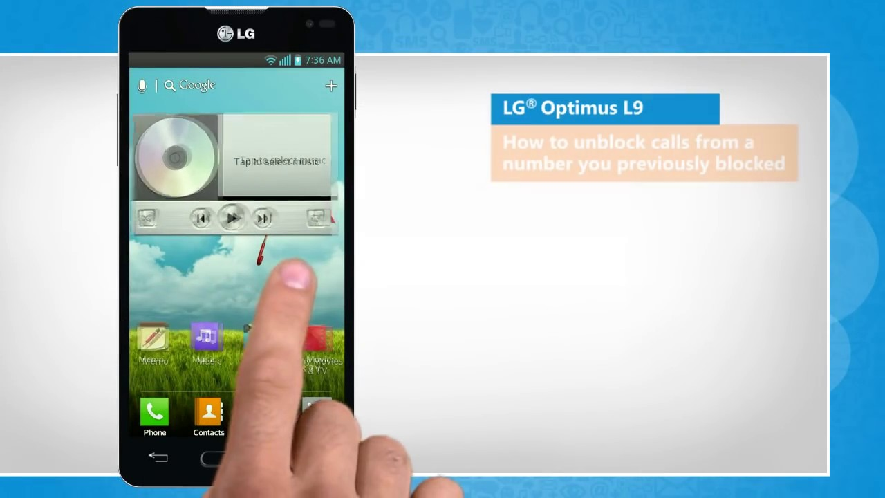 How To Unblock Calls From A Number You Previously Blocked In Lg� Optimus L9