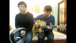 Chia Cách Bình Yên - Guitar Cover - Thecuong91 Vs KhanhNguyen