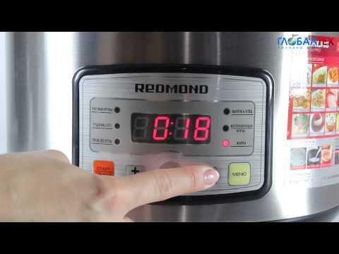 Видеообзор мультиварки Redmond RMC-M4525
