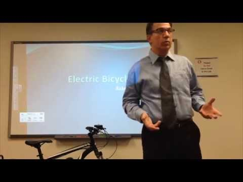 part-1---electric-bicycle-age-lecture-by-rakesh-dhawan-at-george-washington-university