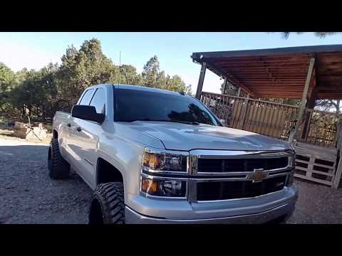 2014 Chevy Silverado Leveled On 22s with 33s