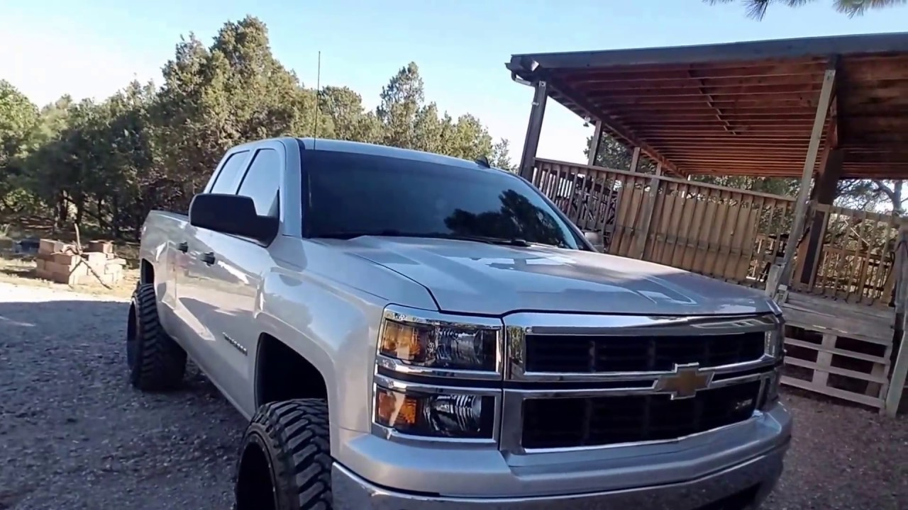 2014 Chevy Silverado Leveled On 22s With 33s Youtube