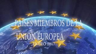 Paises miembros de la union europea