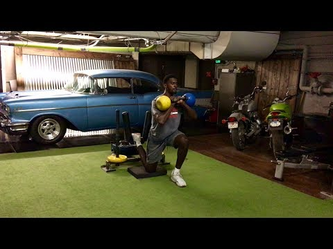Bobby Portis: Offset Rear Foot Elevated Split Squats
