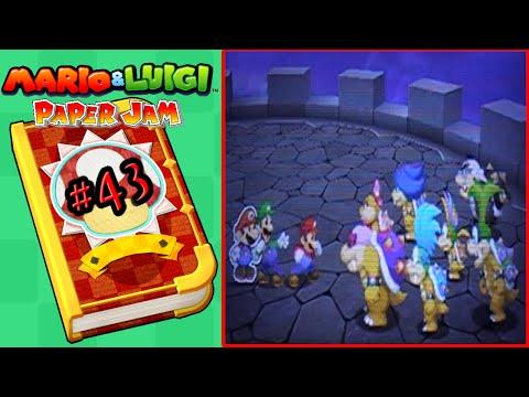 Mario & Luigi Paper Jam - Part 43 | The Koopalings