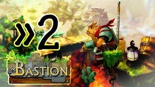 Bastion Walkthrough Part 2 Gameplay (PS4, X360, PC)