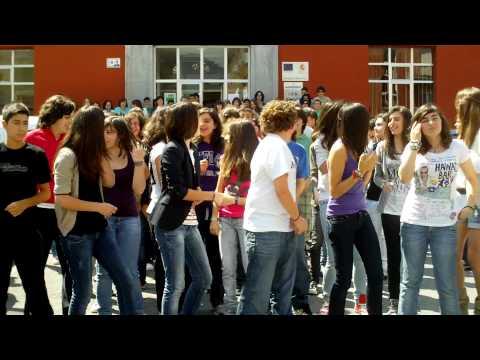 Flash mob Pravia