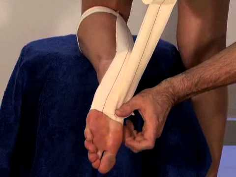 Effective sports taping for achilles tendonitis and calf ...