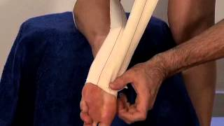 effective sports taping for achilles tendonitis and calf strain
