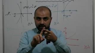 الوحدة الخامسة رياضيات توجيهي علمي - القطع المكافئ - 1