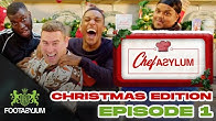 CHUNKZ, FILLY AND HARRY PINERO EAT WILL'S PRAWN | CHRISTMAS CHEFASYLUM EP 1