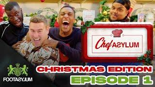 CHUNKZ, FILLY AND HARRY PINERO EAT WILL'S PRAWN | CHRISTMAS CHEFASYLUM EP 1