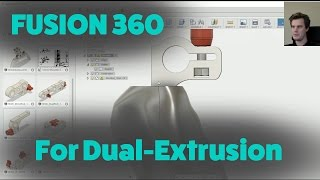Fusion 360 For 3D Printing - #03 - How To Make Dual Extrusion 3D-models