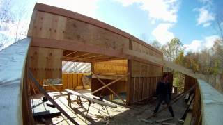Installing Lower Roof Rafters - 57 - My Diy Garage Build Hd Time Lapse