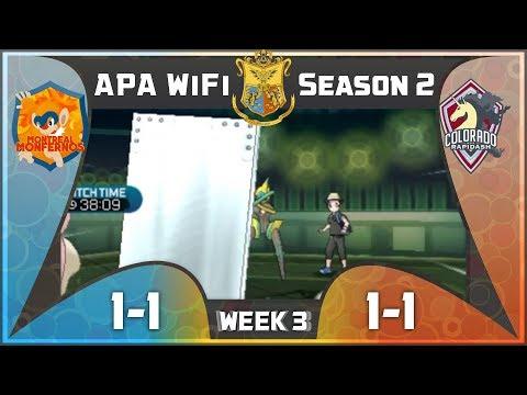 BROKEN TEAM | Week 3 vs Montreal Monfernos | APA WiFi Season 2 | Pokemon Sun and Moon
