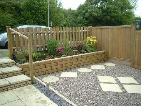 garden fence design wood
