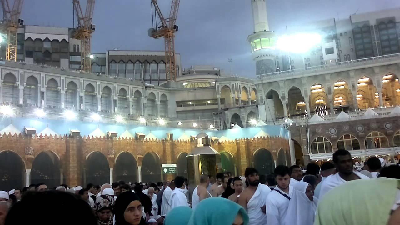 magrib azan makkah live 31/01/2013 - YouTube