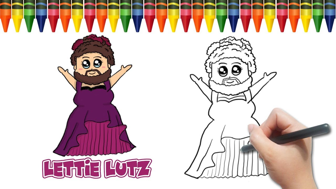 Lettie Lutz Real Draw Lettie Lutz Keala Settle From