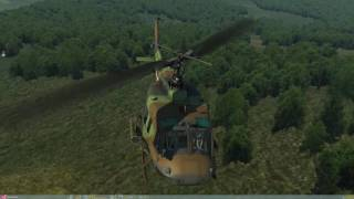 DCS: UH-1 Huey [Open Conflict VR Air Shuttle Service]