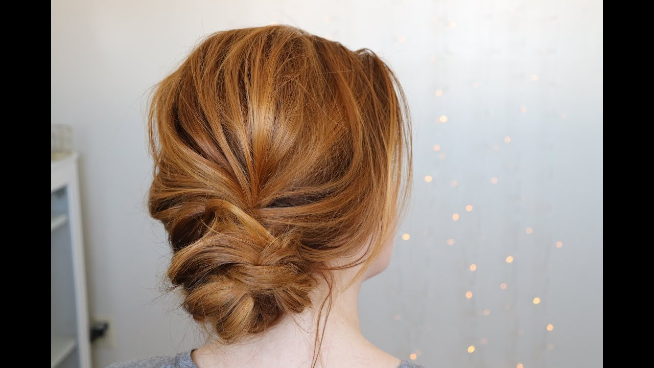 Image result for Messy Low Bun