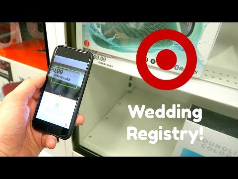 CREATING OUR WEDDING REGISTRY!