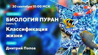 Дмитрий Попов - Биология Пуран Ч.1.  Классификация жизни