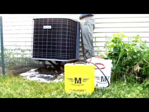 AC Coil Cleaning MaxiJet200 - 200 PSI Battery Operated System by Maxi-Vac