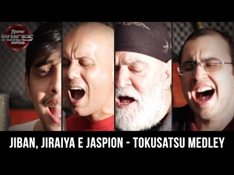 Anime Voices Brasil - Medley (Jiban, Jiraiya e Jaspion).