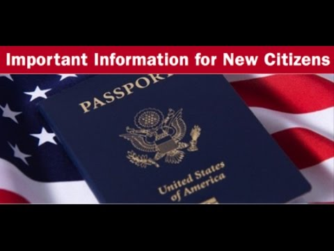 WHAT TO DO AFTER BECOMING A US CITIZEN